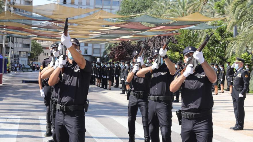 Juramento en Elche de 205 nuevos agentes de la Policía Nacional