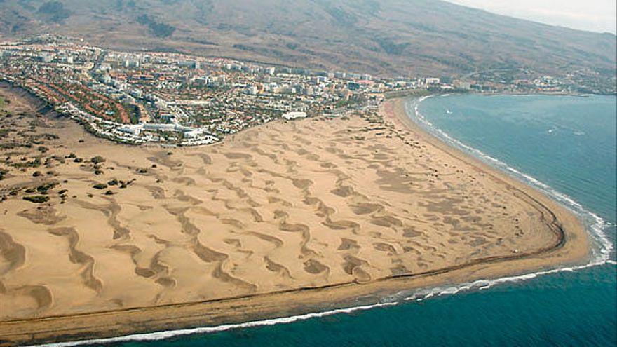Maspalomas, la candidata española a ser la mejor playa del mundo