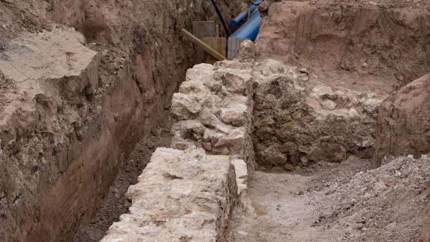 El acueducto descubierto en Alberic abastecía al jardín del palacio gótico