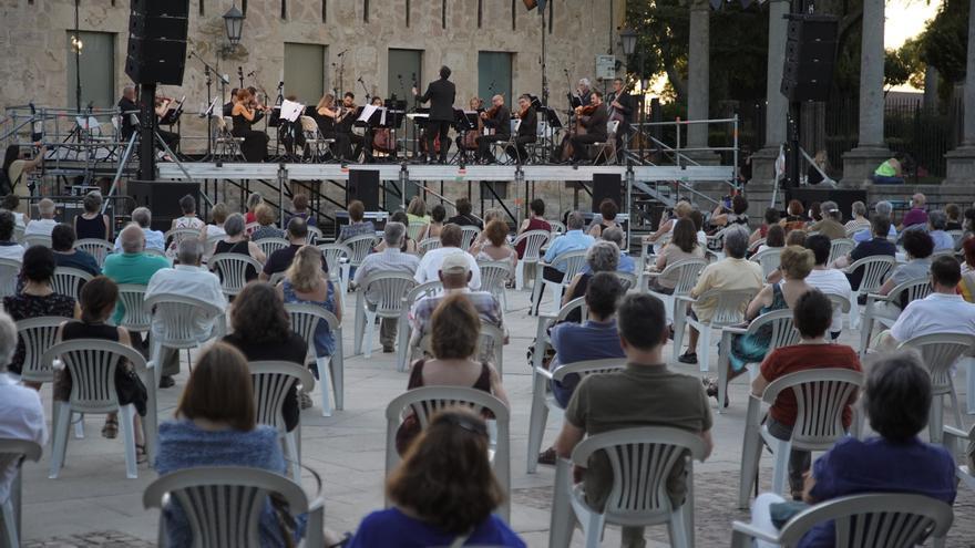 La Orquesta Sinfónica de Castilla y León se embarca en una nueva gira que incluye a Zamora