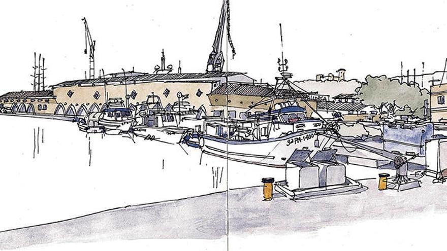 Mit den Urban Sketchers mal fix Mallorca zeichnen
