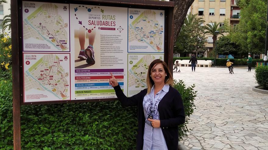 El Ayuntamiento de Aspe crea las rutas urbanas saludables