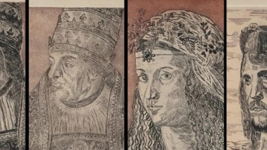 Los grabados de la familia Borja del profesor Ortolá