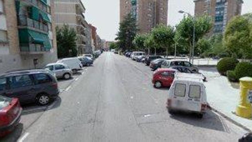 Talls al carrer Fra Jacint Coma i Galí per treballs d'Aigües de Manresa