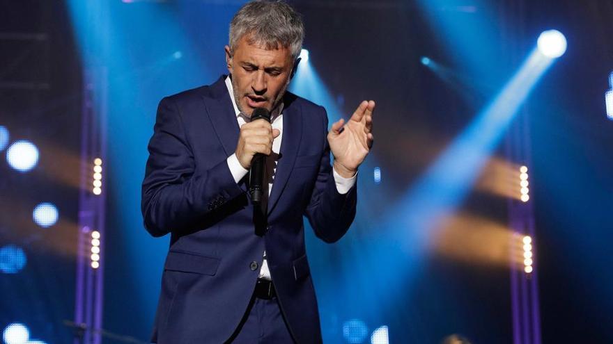 Se suspende un concierto de Sergio Dalma por incitar al público a saltarse las medidas anticovid