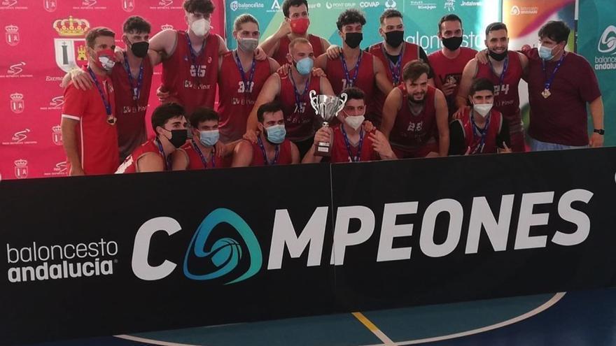 El CD Colegio El Pinar se hace con el campeonato Senior U22 de la Federación Andaluza de Baloncesto