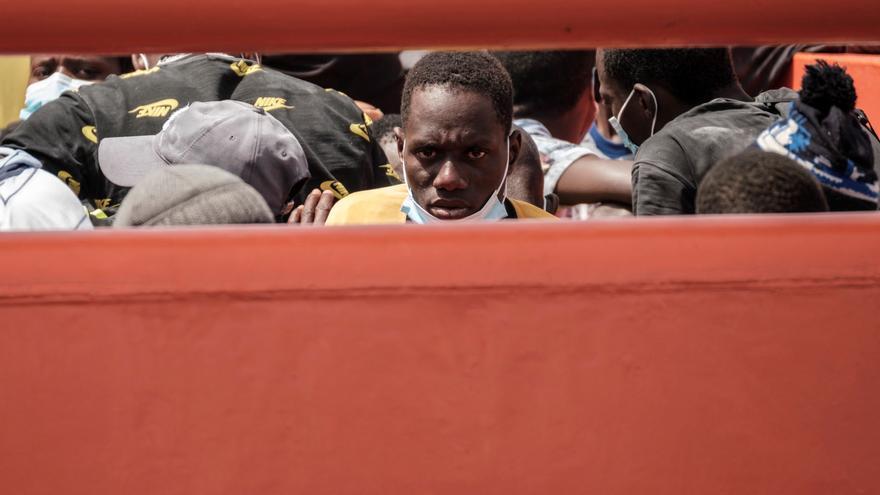 Crece de nuevo la llegada de inmigrantes a Canarias con 524 en mayo