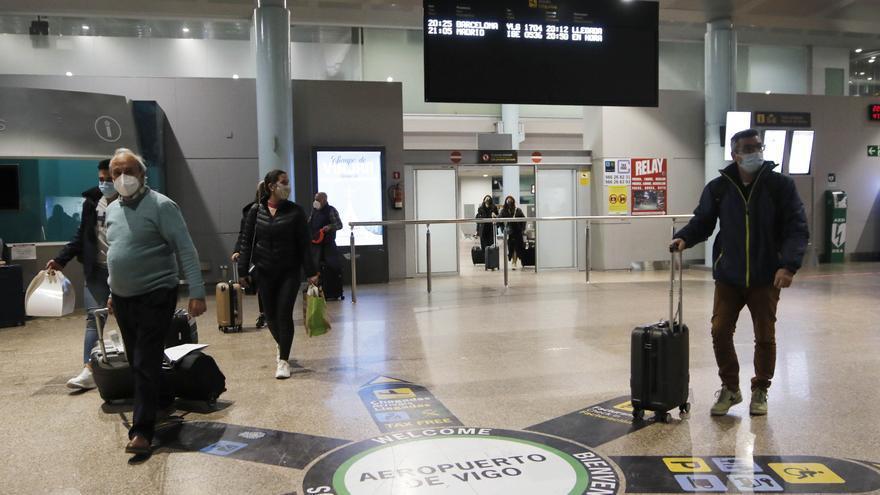 Peinador, el mejor parado en marzo de la red aeroportuaria gallega