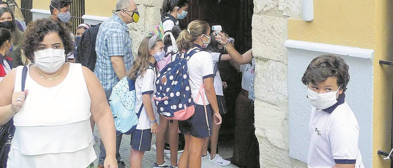"""""""Los niños y las niñas están teniendo un comportamiento ejemplar en las aulas"""""""