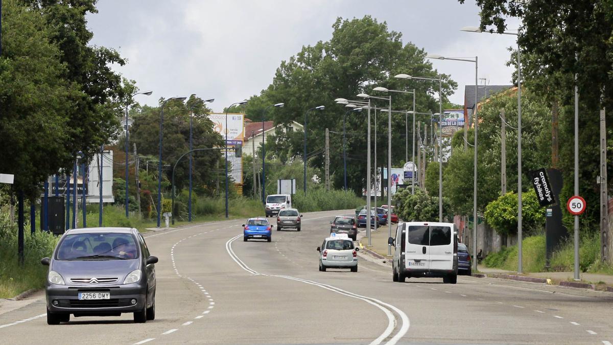 Vista de la avenida de Europa.