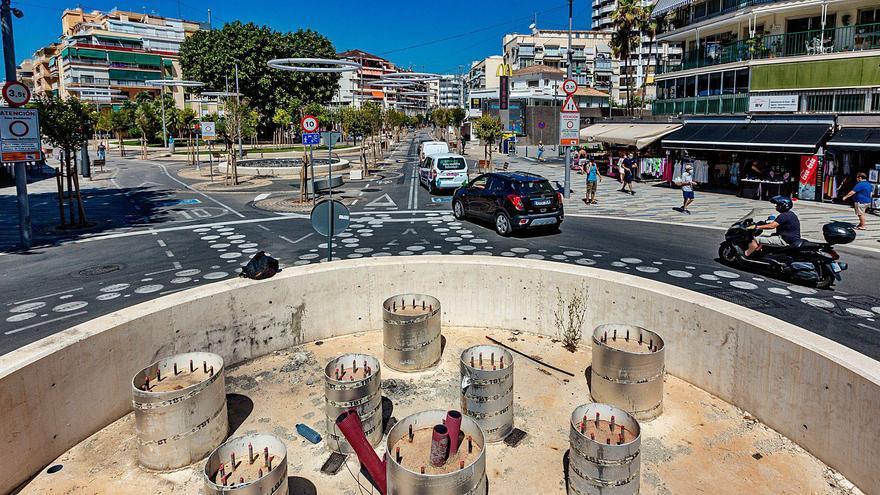 Benidorm atrasa a febrero el final de las obras de la avenida del Mediterráneo