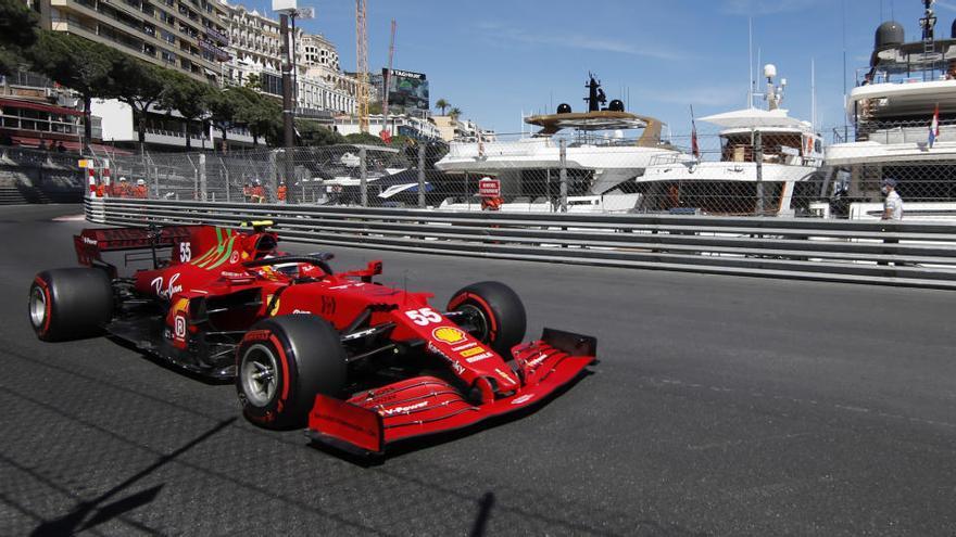 Ferrari domina el segundo libre en Mónaco con Alonso duodécimo