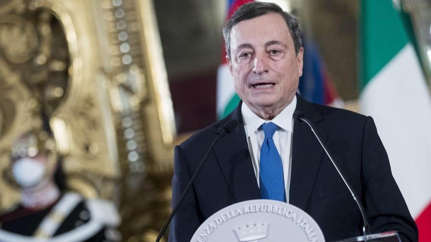 Draghi, dispuesto a formar Gobierno con la duda de si será técnico o político