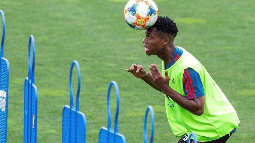 España-Montenegro con el debut de Ansu Fati en el horizonte