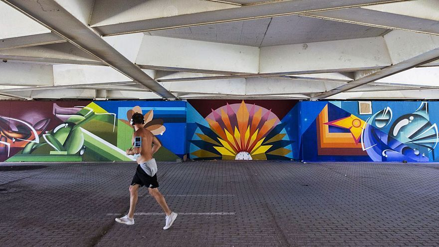 El arte mural vuelve al Jardín del Turia con   11 nuevas obras