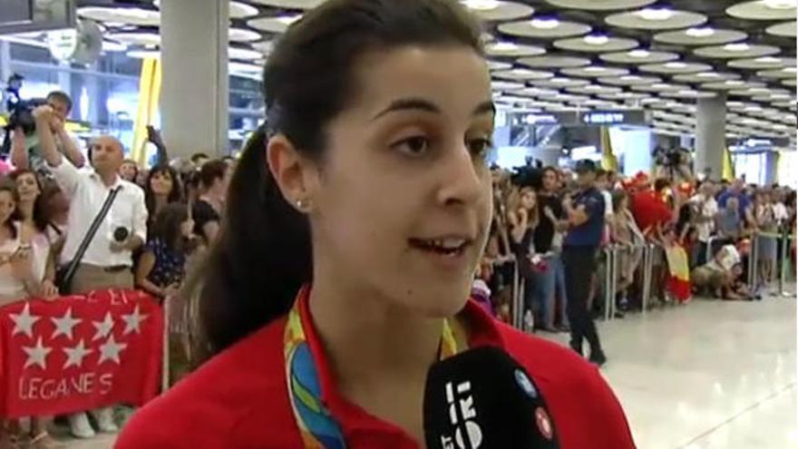 Nuestros olímpicos ya están en España