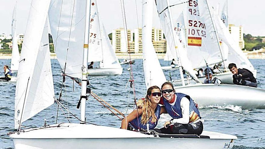 Baleares copa los podios en el Nacional de la clase 420