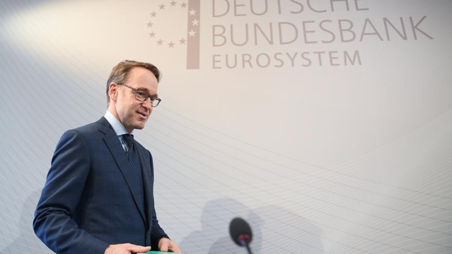 Jens Weidmann, presidente del Bundesbank, dimite tras una década al frente del banco central de Alemania