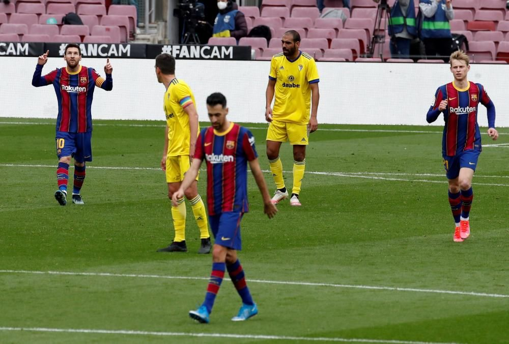 Fútbol | LaLiga Santander: Barcelona - Cádiz
