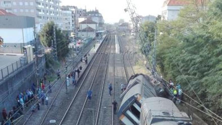 La velocidad pudo causar la tragedia del tren Vigo-Oporto