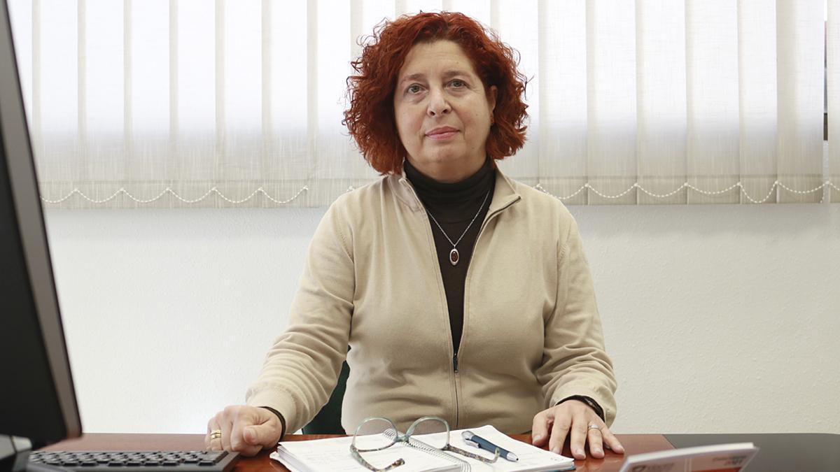 Sagrario de Osma, gerente de la Asociación para la Lucha Contra las Enfermedades del Riñón.