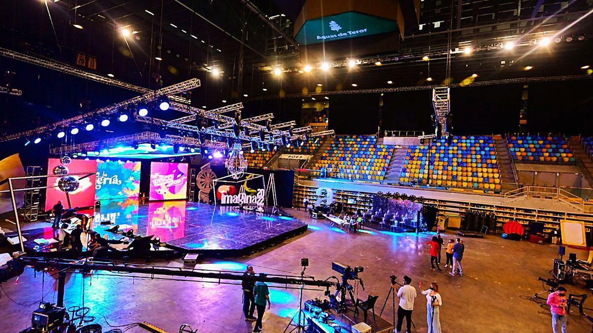 El Arena, plató para el Carnaval | TONY HERNÁNDEZ