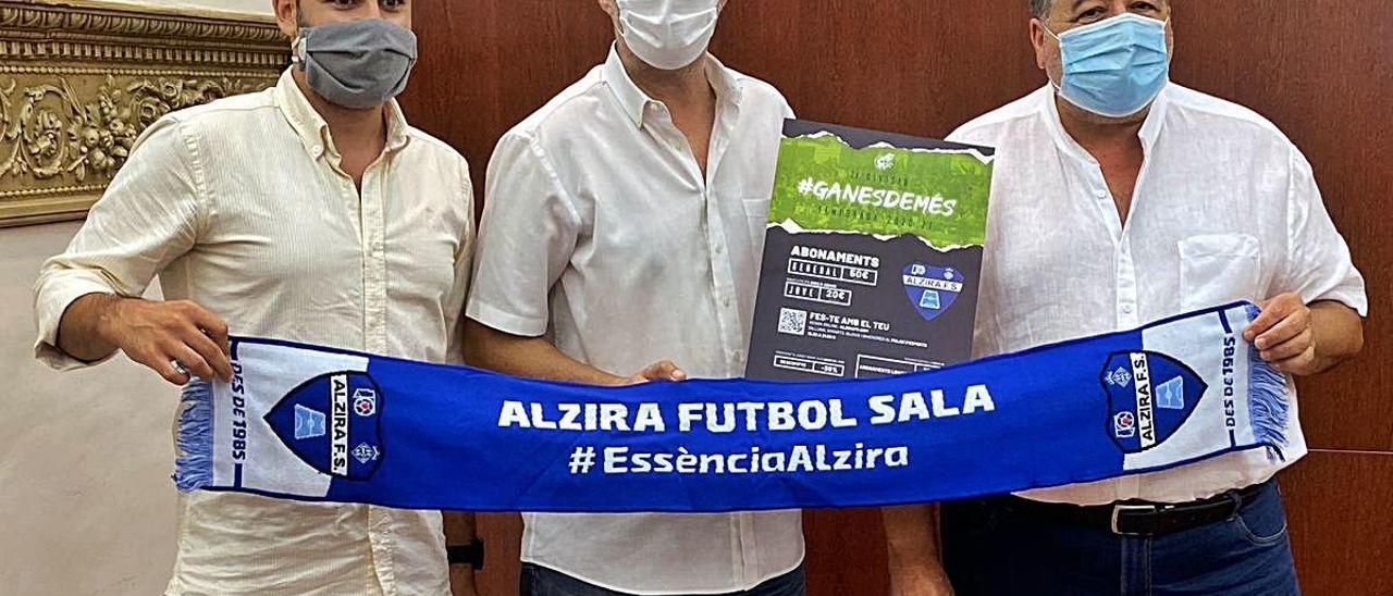 Presentación de la campaña de abonos del Alzira FS.