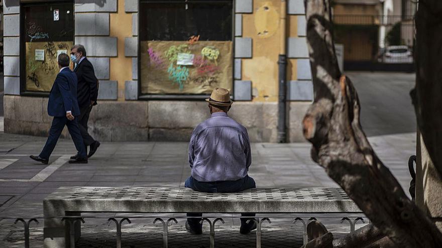 Las pensiones de los zamoranos, las únicas que no llegan ni a 900 euros
