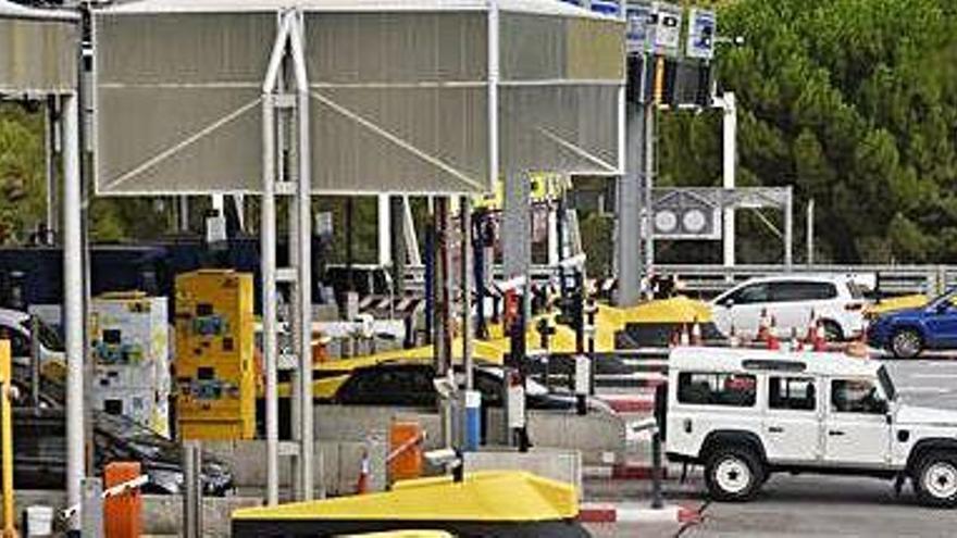 El Govern fa passar per l'adreçador del Teletac els usuaris de l'autopista