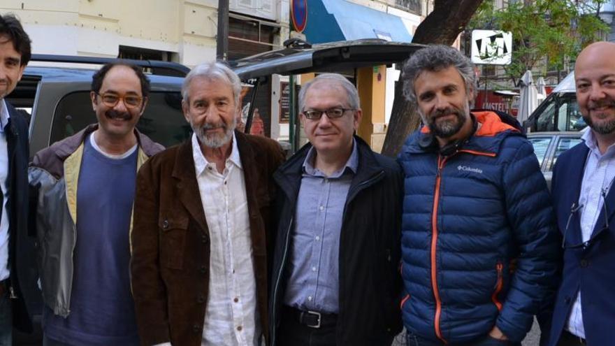 José Sacristán rueda «Formentera Lady» en el centro de València