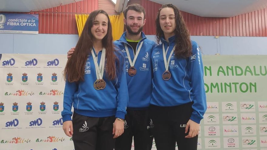 Seis medallas para los jugadores del Ovida Oviedo en los Masters nacionales