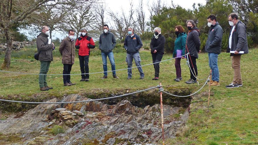 Empiezan los trabajos del Chao Samartín con 10 días de estudio sobre el terreno