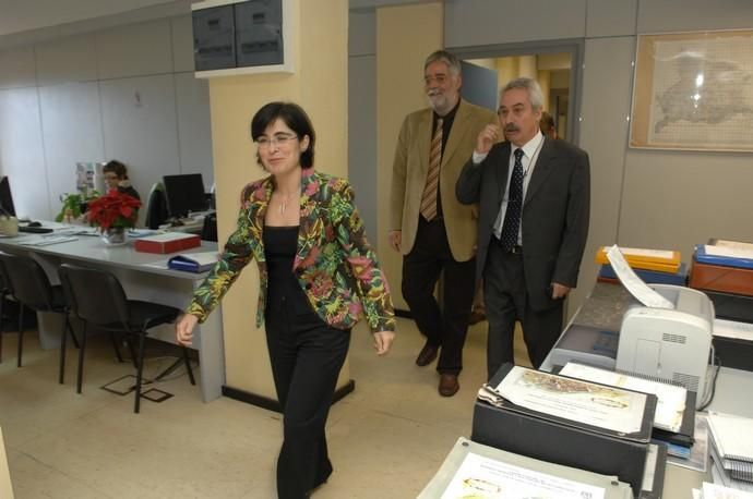 TOMA DE POSESION CAROLINA DARIAS DIRECTORA ...