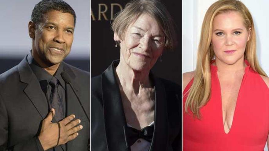 Denzel Washington, Amy Schumer y Glenda Jackson, nominados para los Tony
