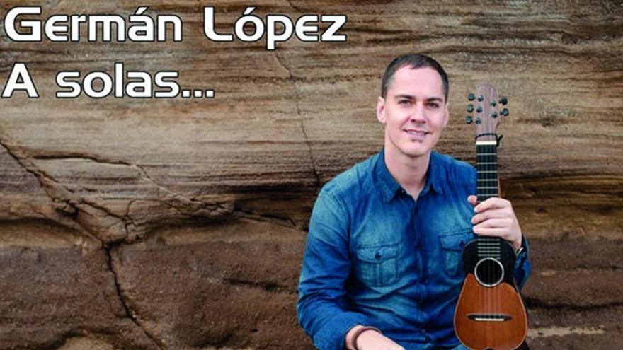 El timplista Germán López protagoniza Salón Guimerá
