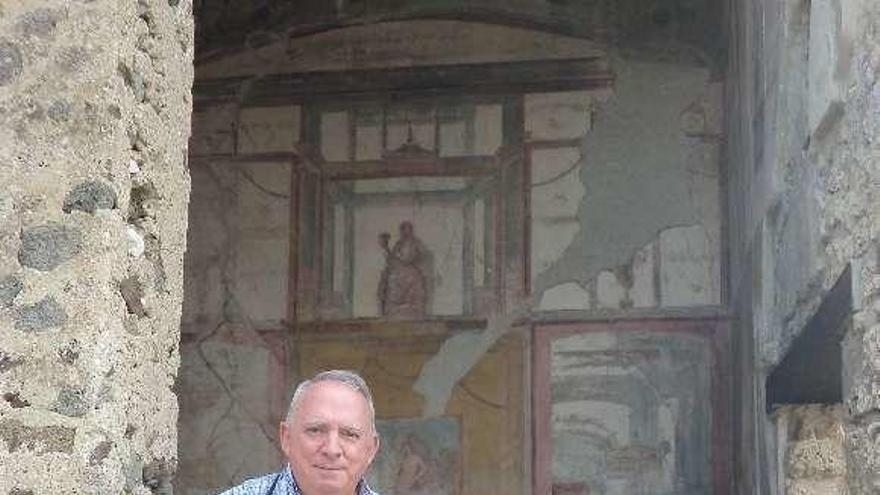 """Juan Manuel Madariaga: """"Sorprende el grado de civilización alcanzado en Pompeya y cómo lo perdimos"""""""
