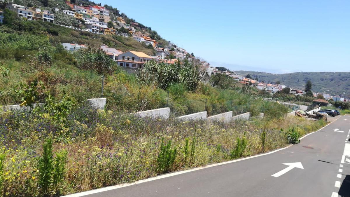 Parcela sobre la que se edificarán las viviendas sociales en el barrio de El Secuestro