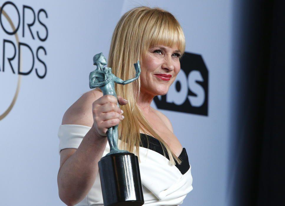 """Premios del Sindicato de Actores: Patricia Arquette, galardonada por la serie de televisión """"Escape de Dannemora"""""""