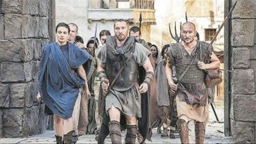 DMAX descubrirá mañana a los grandes rebeldes que desafiaron al Imperio Romano