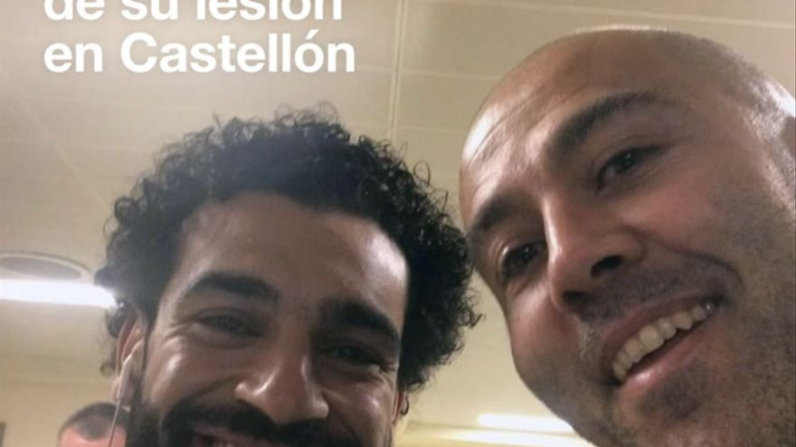 Salah, en manos de un castellonense para recuperarse de su lesión