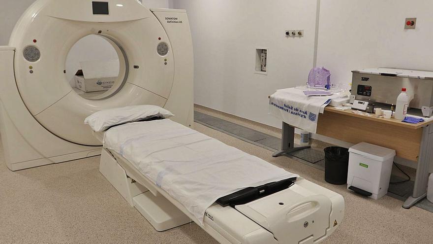 1,2 millones para mantener  el equipo de radiodiagnóstico