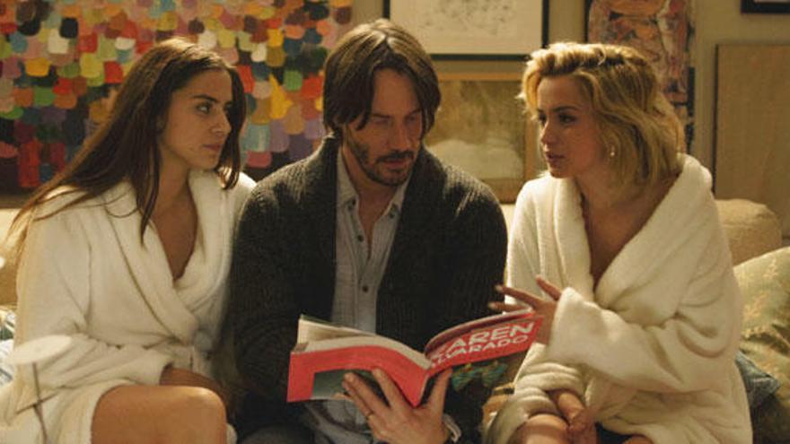 Ana de Armas, 'loca' por Keanu Reeves