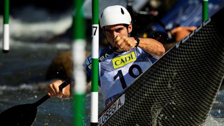 Ander Elosegi, plata del C1 en el Mundial de eslalon