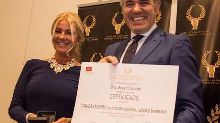 La empresaria Beatriz Rodero, Medalla de Oro de la Asociación de Profesionales de la Imagen