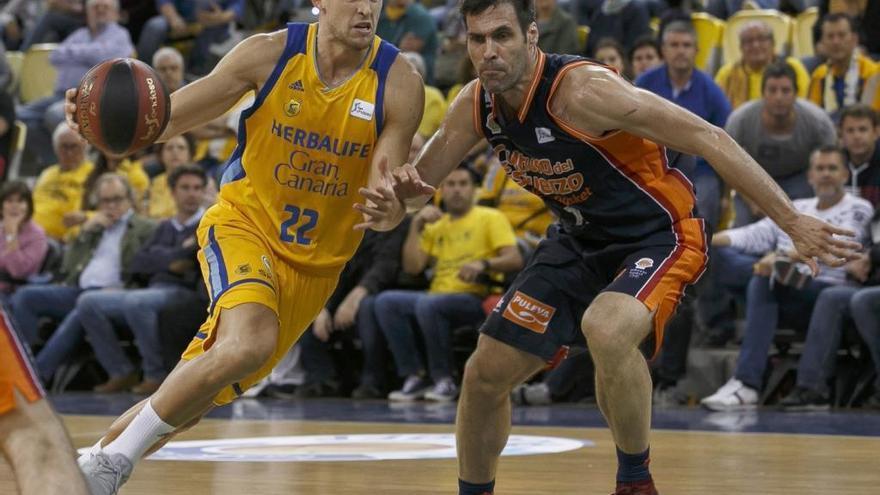 El Gran Canaria iguala la serie con el Valencia Basket