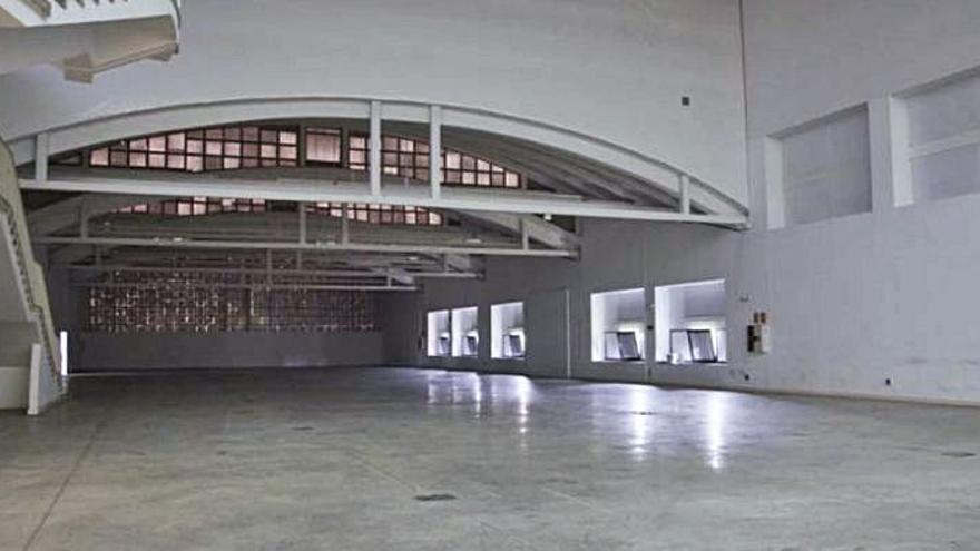 Laboral Centro de Arte cede una de sus mayores naves para platós de productoras audiovisuales