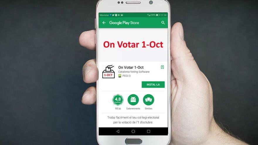 Puigdemont anuncia a través de Twitter una aplicació per saber on anar a votar