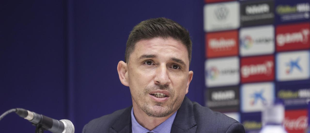 Rubén Reyes, en el Tartiere