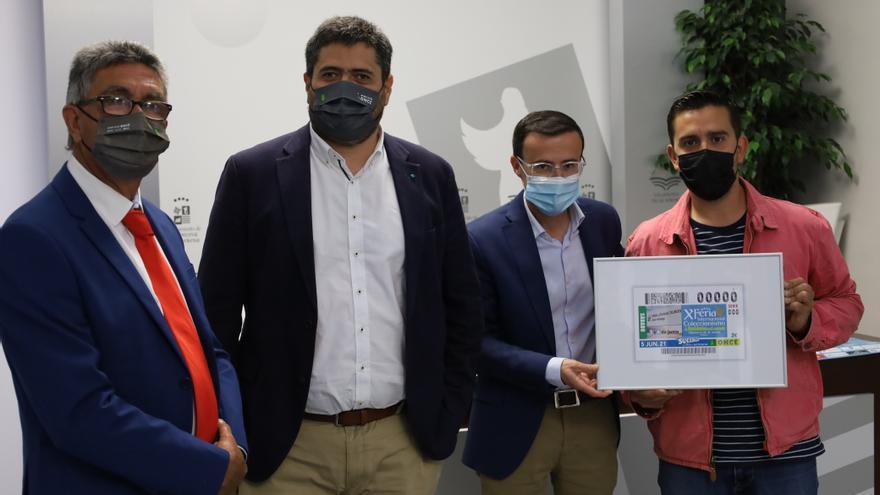 La ONCE dedica un cupón a la X edición de la feria de coleccionismo de Villanueva