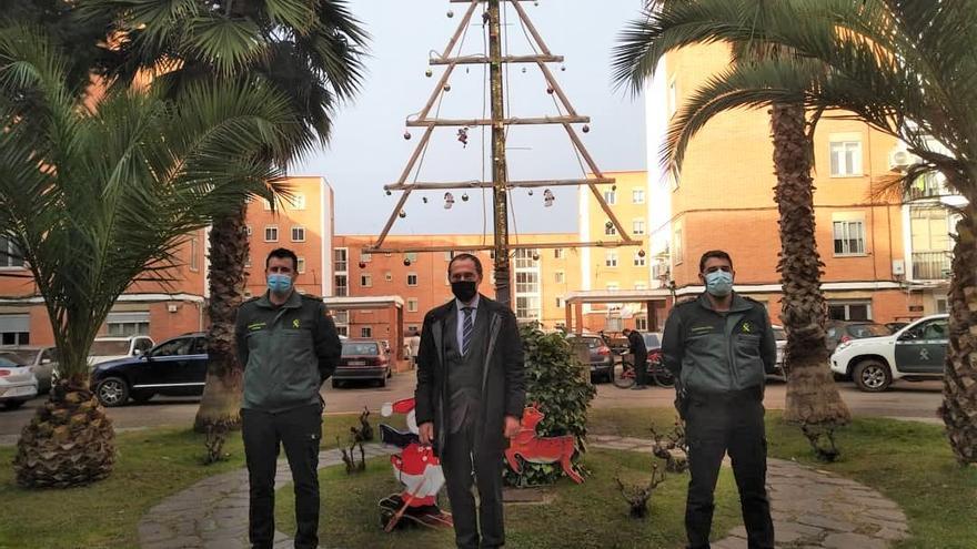 El subdelegado del Gobierno felicita la Navidad a la Guardia Civil y a la Policía Nacional de Zamora